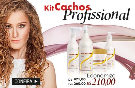 kit cachos profissional de r$471,00 por apenas r$260,00 - economia de r$210,00