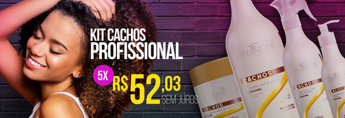 kit cachos profissional 40% off