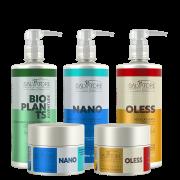 Cronograma Hidratação e Reconstrução para Cabelos Oleosos   - Hair Pro