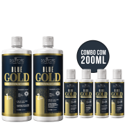 Kit Blue Gold 1L + 200ml
