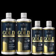 KIT BLUE GOLD 1L + 500ml