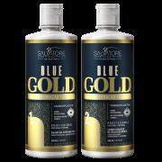 Kit Blue Gold 500 ml Passo 1 e 2 -  Realinhamento Capilar
