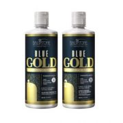 Kit Blue Gold Realinhamento Capilar 500 ml