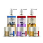 Cronograma Restauração e Matização Hidratante para Loiros - Hair Pro