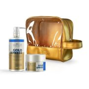 Kit Gold Xpress Cliente (Shp. 480ml + Cond. 250ml ) + Necessaire