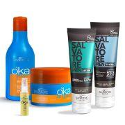Kit OKA Argan+ Pomada Men (100ml) e Shampoo (100ml)