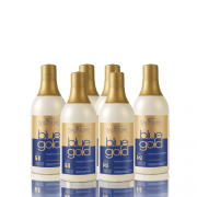 Kit Promocional Trio Blue Gold 500 Ml (Contém: 03 Sh Anti Resíduo 500 Ml  + 03 Creme Condicionante 500 Ml)