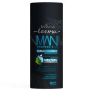 Shampoo Man 3 em 1 Menthol Laevia