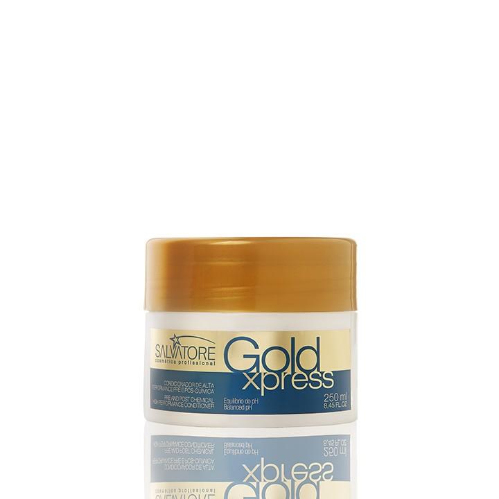 Másc. Condicionante Gold Xpress Cliente 250ml - Pós Química e Alisamentos