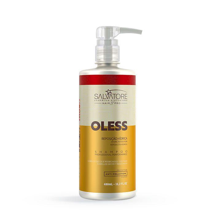 Shampoo Oless Cliente 480ml - Limpeza Hidratante Diária Para Os Cabelos