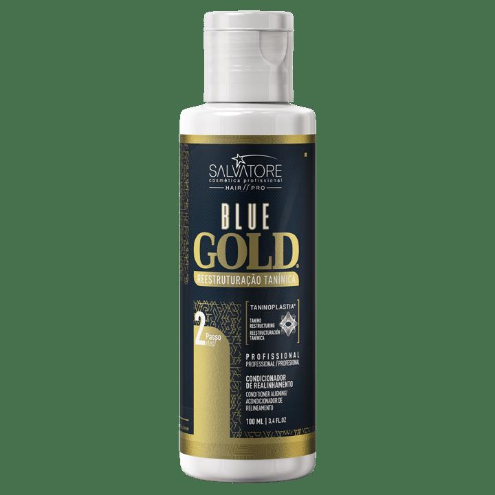 Kit Blue Gold 100ml Passo 1 e 2 - Realinhamento Capilar