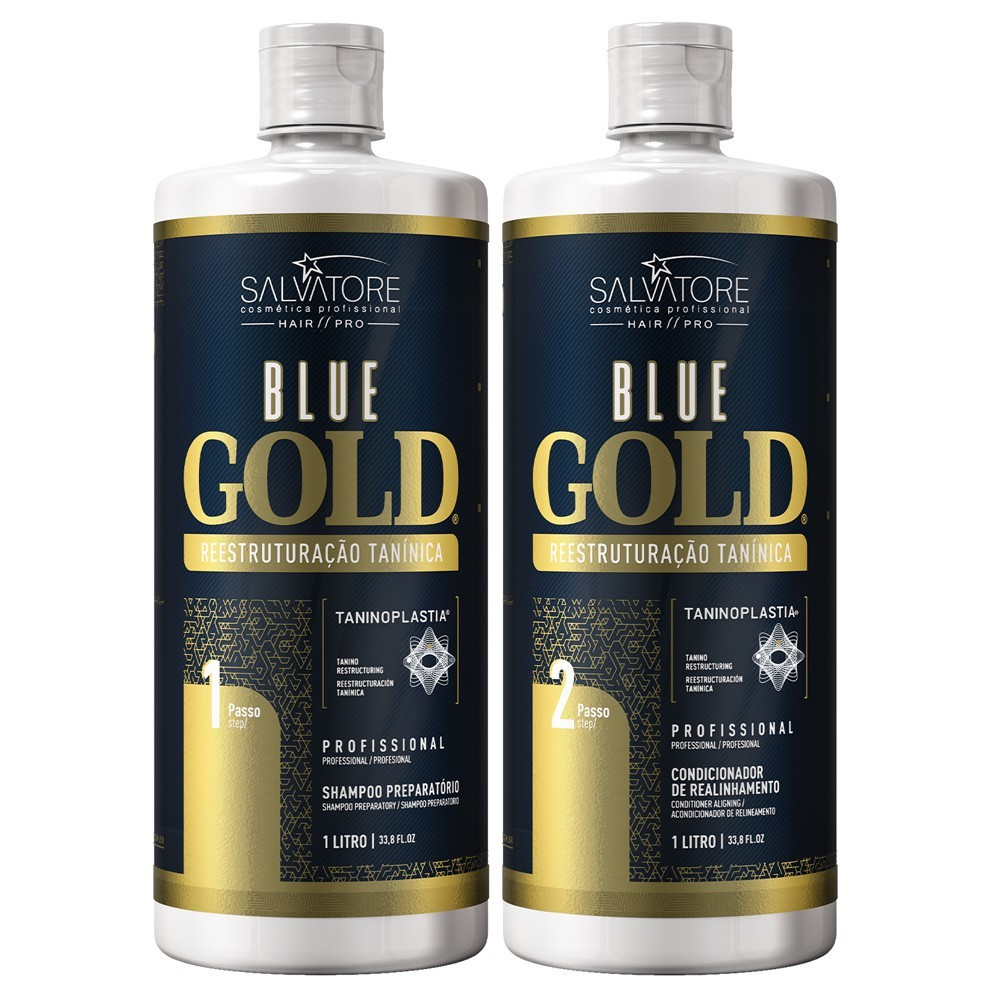 Kit Blue Gold 1L + Kit lavatório fresh Camomila 1,5L