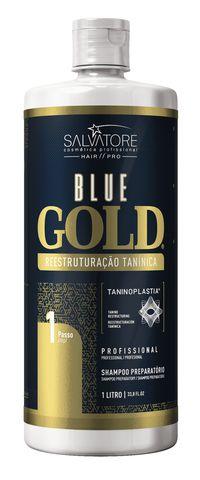Kit Blue Gold 1Litro (A Evolução das escovas progressivas e inteligentes)