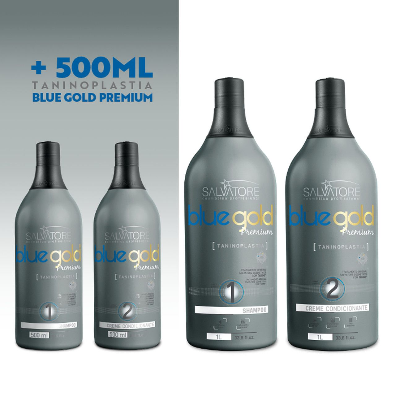 Kit Blue Gold Premium Profissional