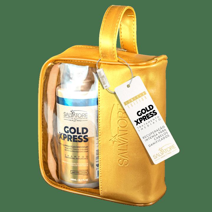 Kit Gold Xpress Cliente (Shp. 480ml + Cond. 250ml ) + Necessaire