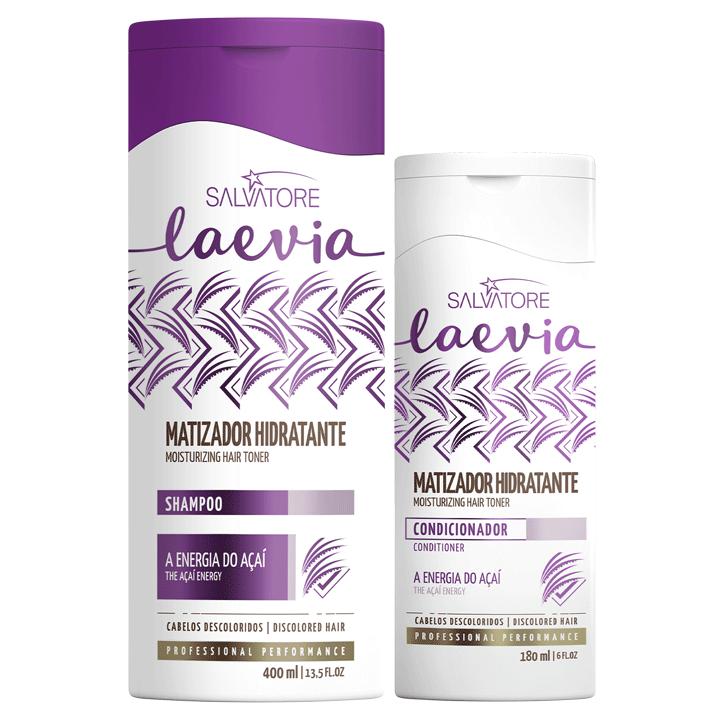 Kit Laevia Matizador Hidratante (Shampoo 400ml + Cond. 180ml)