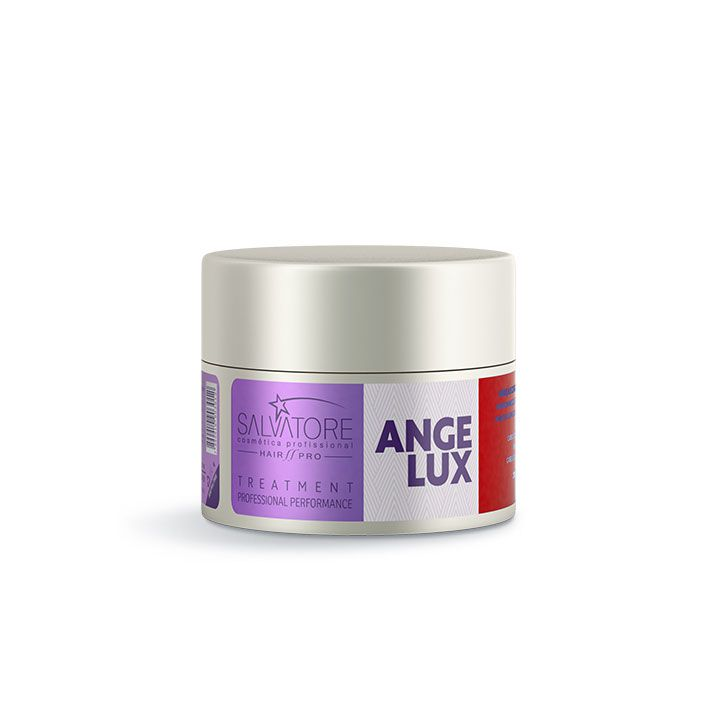 Másc. Condicionante Angelux Cliente 250Ml - Tratamento Diário Para Cabelos Loiros