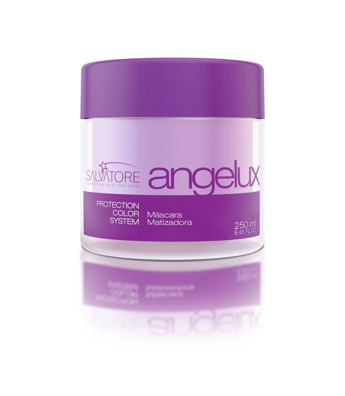 Másc. Condicionante Angelux Cliente 500ml - Tratamento Diário Para Cabelos Loiros