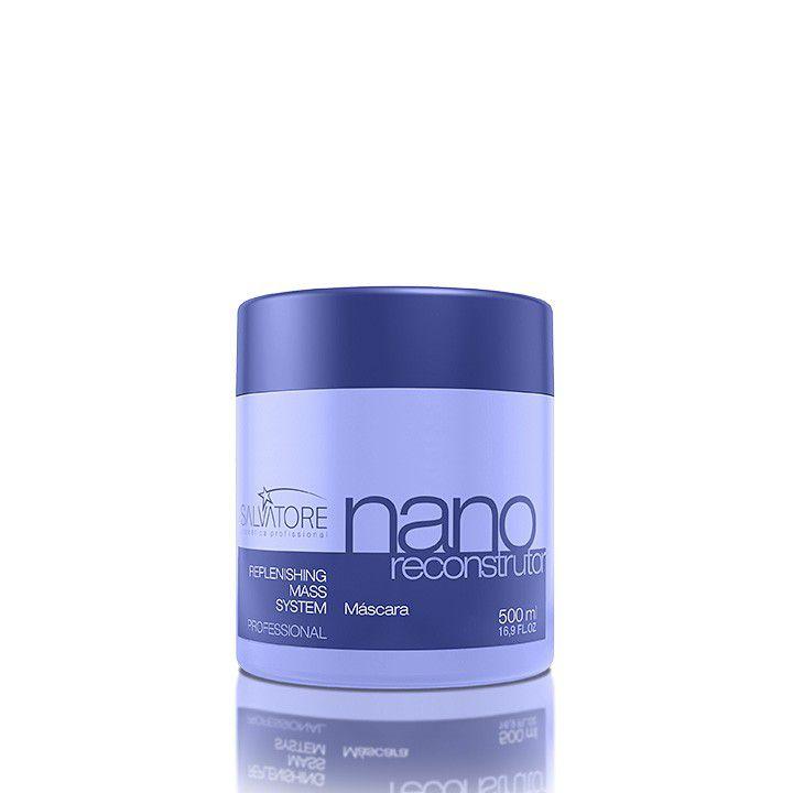 Másc. Condicionante Nano Reconstrutor Profissional 500 Ml - Reconstrução Capilar