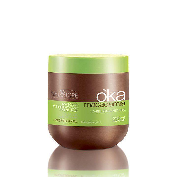 Máscara OKA profissional Macadamia 500ml (pague 1 leve 2)