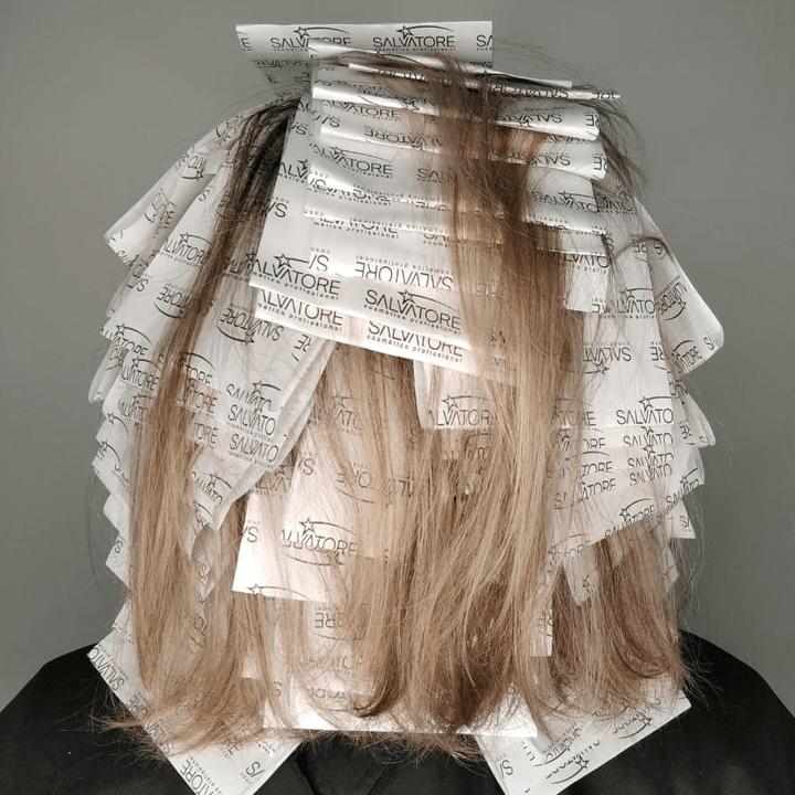 Papel para Mechas Hairlights (pct. c/ 50 ou 200 folhas)
