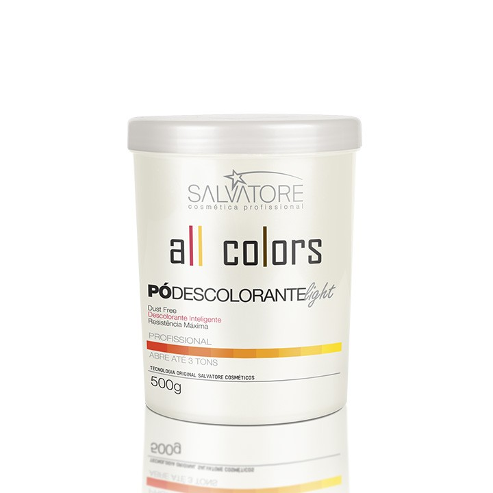 Pó Descolorante Light All Colors Profissional 500g - Intenso Clareador