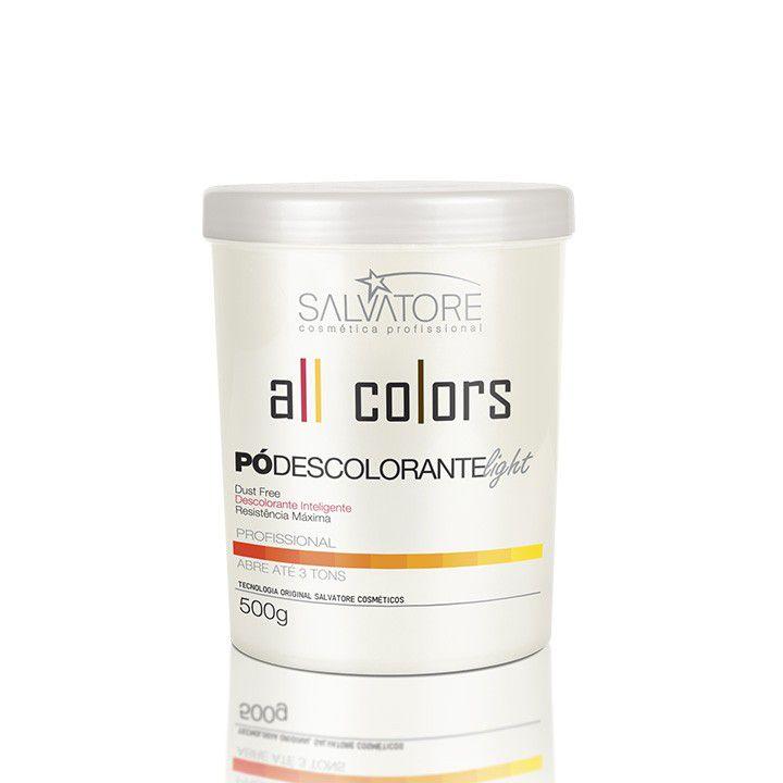 Pó Descolorante Light All Colors Profissional 500g - Intenso Clareador