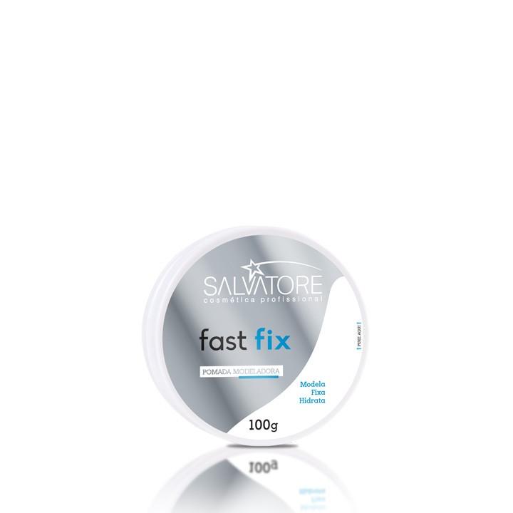 Pomada Fast Fix Modeladora 100g - Para Penteados Masculinos