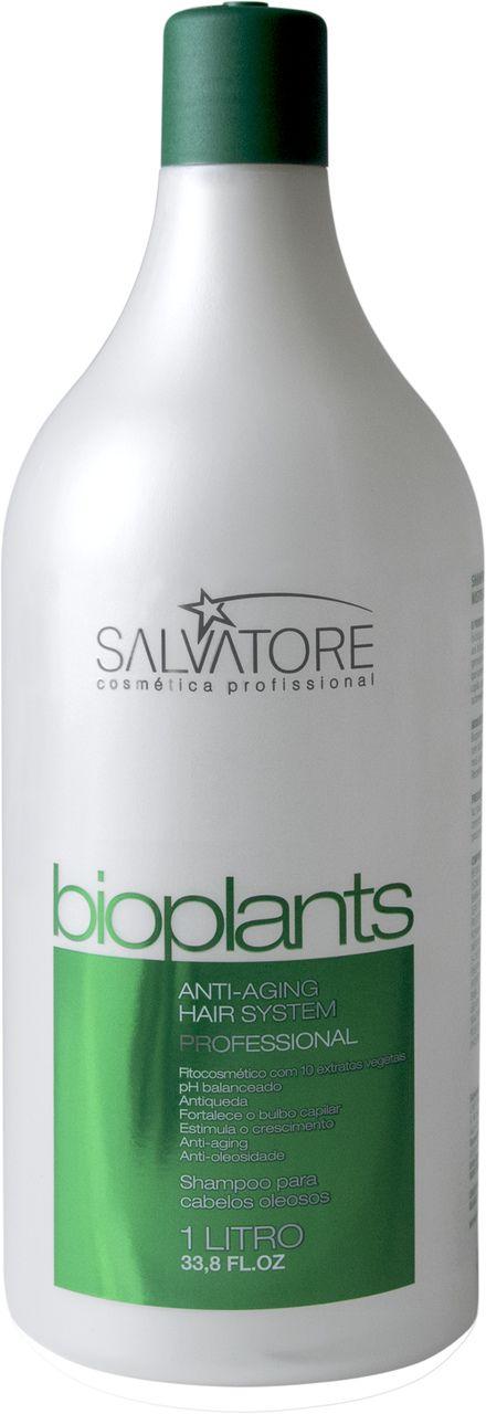 Shampoo Bioplants Profissional 1L - Desintoxicação Capilar e Equilíbrio da Oleosidade