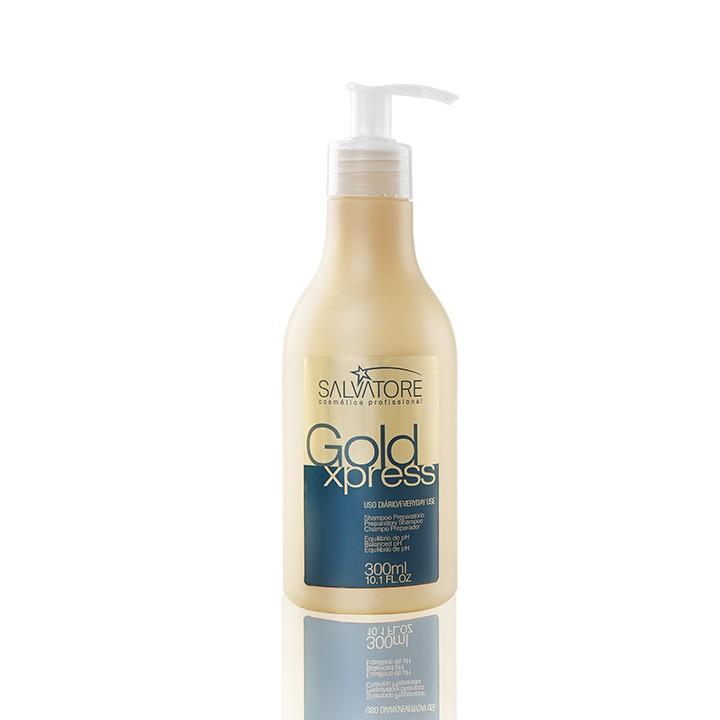 Shampoo Gold Xpress Cliente 300 Ml - Shampoo de Tratamento Capilar de Uso Diário