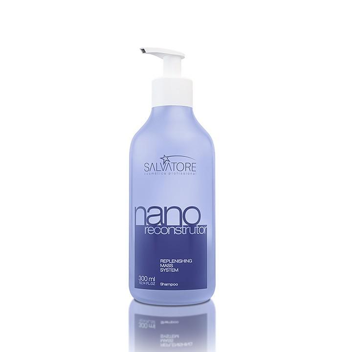 Shampoo Nano Reconstrutor Cliente 300 Ml - Reconstrução Diária Para Os Cabelos