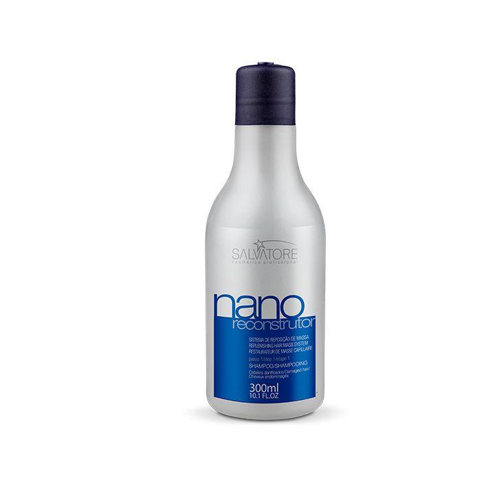 Shampoo Nano Reconstrutor Cliente 300ml - Reconstrução Capilar Completa