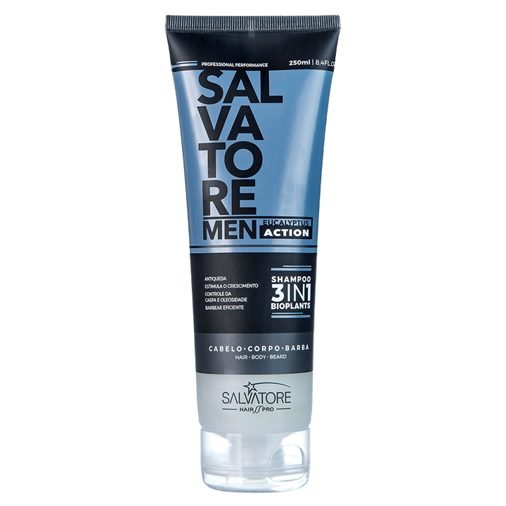Shampoo Salvatore Men 3in1 250ml