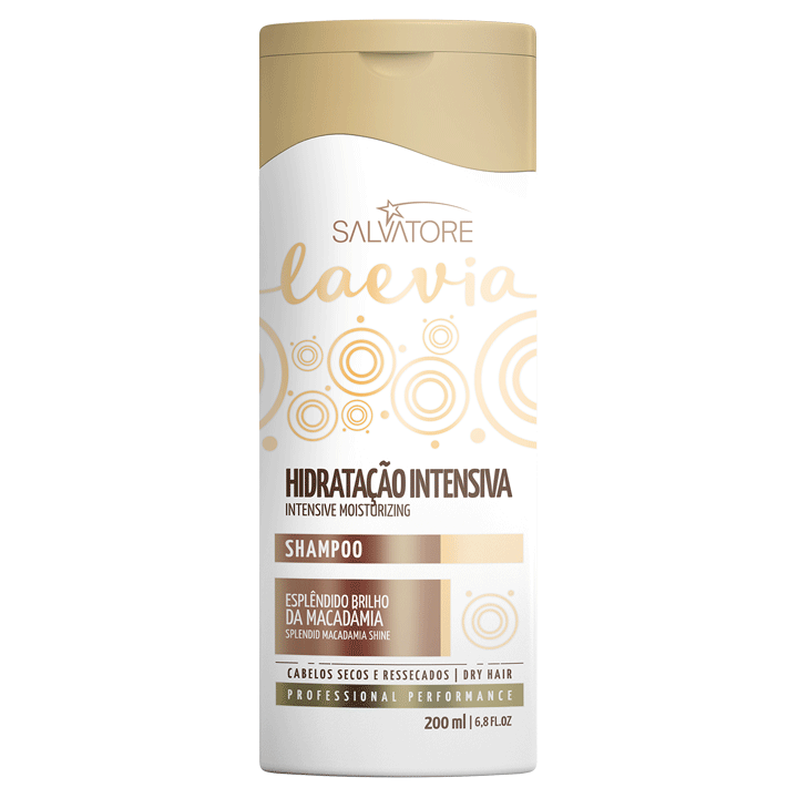 Uso Diário - Shampoo Laevia Hidratação Intensiva 200ml