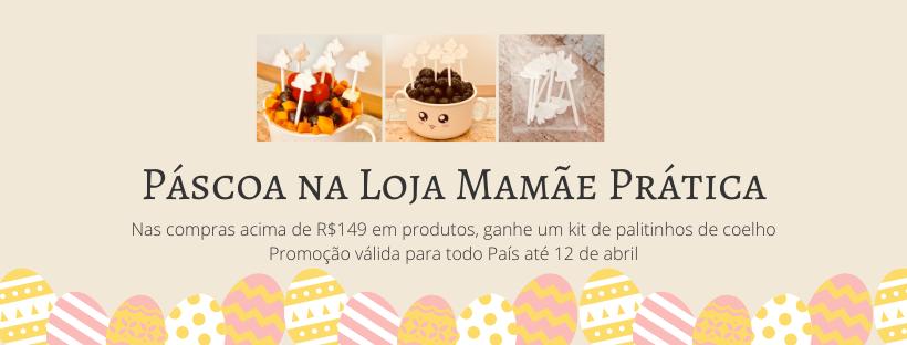 Promoção de Páscoa: ganhe 1 kit palitinhos de coelho