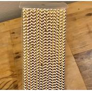 Canudo de papel - Dourado