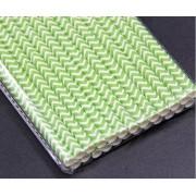 Canudo de papel - Verde claro