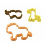 Cortador Animais da Floresta (3 peças)