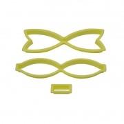 Cortador lacinho (3 peças)