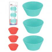Forminhas de Silicone Cupcake (6 unidades) - ArtHouse