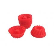 Forminhas de Silicone Mini Pudim (12 peças)