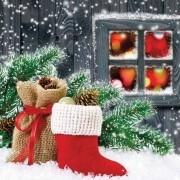 Guardanapo Natal - Bota