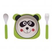 Kit Alimentação Panda - 3 peças