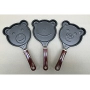 Kit frigideira bichinhos - 3 peças