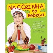 Livro na Cozinha da Rebeca