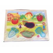 Tabuleiro Educativo Pomar - Legumes