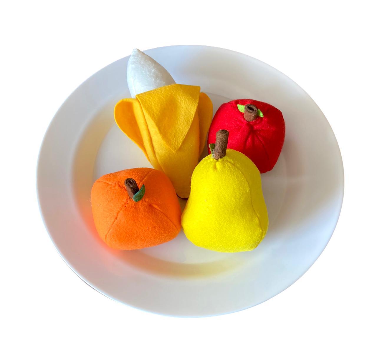 Comidinhas de Feltro - Frutas