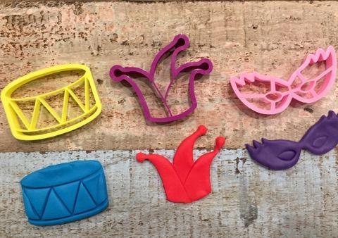 Cortador Carnaval  (3 peças)