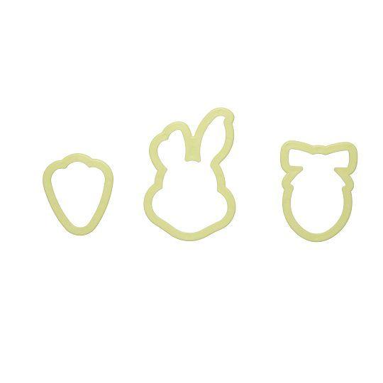 Cortador coelhinho (3 peças)