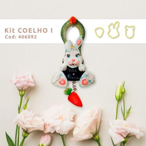 Cortador Coelho I (3 peças)